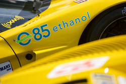 Ethanol logo on the Corvette Racing Corvette C6.R