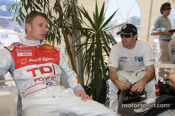 Allan McNish and Ricardo Zonta