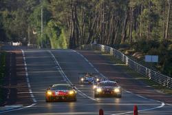#78 AF Corse Ferrari F430 GT: Thomas Biagi, Christian Montanari, Toni Vilander, #59 Team Modena Aston Martin DBR9: Jos Menten, Christian Fittipaldi, Terry Borcheller