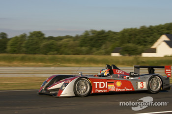 #3 Audi Sport Team Joest Audi R10: Mike Rockenfeller, Alexandre Prmat, Lucas Luhr