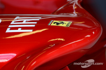 Ferrari F2008 front wing detail