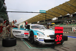 Andre Lotterer of Petronas Toyota Team Tom's taking the drive