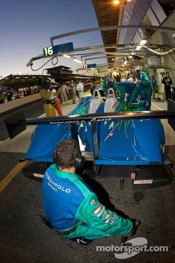 #16 Pescarolo Sport Pescarolo Judd: Jean-Christophe Boullion, Emmanuel Collard, Romain Dumas