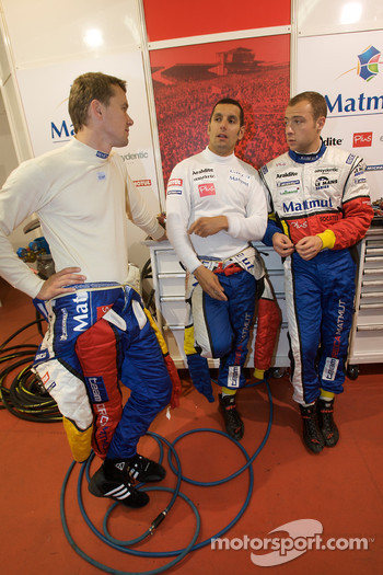 Marcel Fassler, Soheil Ayari and Laurent Groppi
