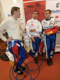 Marcel Fassler, Soheil Ayari and Laurent Groppi