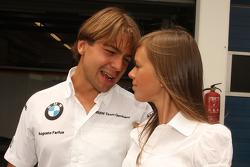 Augusto Farfus and his wife Liri