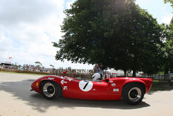 A historic racing car