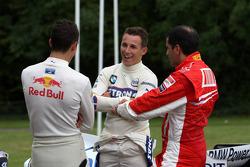 Sebastian Buemi Red Bull Racing, Christian Klien, Test Driver, BMW Sauber F1 Team, Marc Gene, Test Driver, Scuderia Ferrari