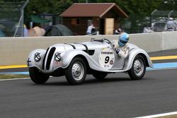 #9 BMW 328 1938: Nicolas D'Ieteren, Roland D'Ieteren