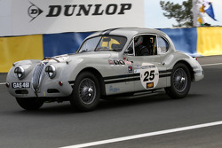 #25 Jaguar Xk 140 1955: Peter Johns, Mark Gibbon
