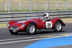 #38 Maserati A6 Gcs 1954:Laurent Queffelec, Jean-Guy Roger