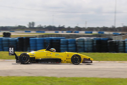 Robert Megennis during Sebring testing