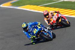 亚历克斯·埃斯帕伽罗,铃木MotoGP车队;马克·马奎斯,雷普索尔本田车队