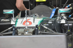 Mercedes AMG F1 W06 detail