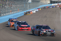 Erik Jones, Joe Gibbs Racing Toyota and Austin Dillon, Richard Childress Racing Chevrolet