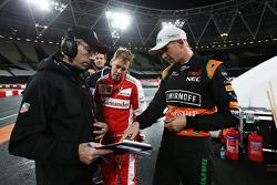 Sebastian Vettel, Nico Hulkenberg