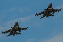 F16 flyover