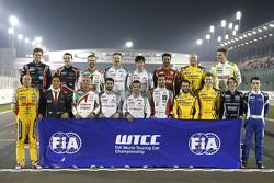 WTCC drivers group photo