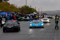 Post race pitlane action