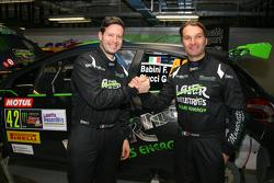 Fabio Babini and Giacomo Ciucci, Peugeot 208 T16