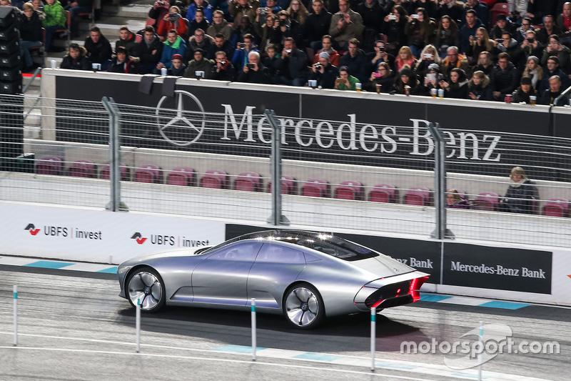Mercedes showcases a concept car