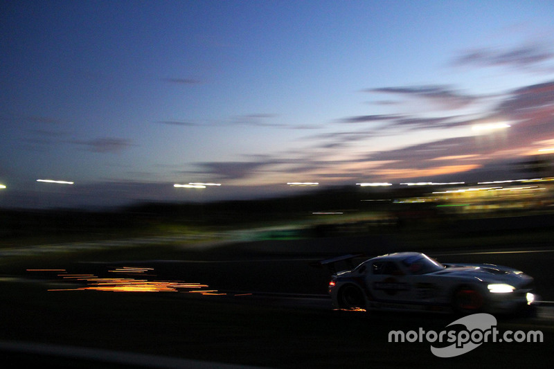 9. #33 Mishumotors Mercedes SLS AMG GT3: Mirco Schultis, Renger van der Zande, Patrick Simon, Alex Kapadia