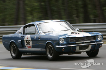 56-Choque, Brunet-Ford Shelby 350 GT