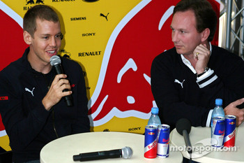 Red Bull Racing announce Sebastian Vettel, Scuderia Toro Rosso as their driver for 2009