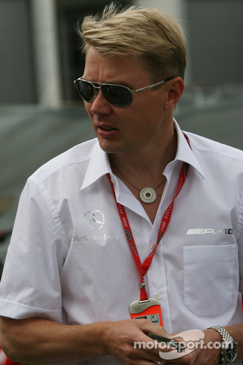 Mika Hakkinen, Former F1 World Champion