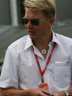 Mika Hakkinen, Former F1 World Champion