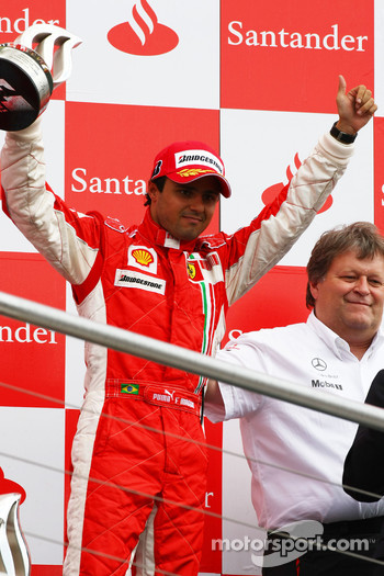 Podium: third place Felipe Massa