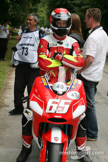 John Hackett, Ducati Desmosedici (ex Loris Capirossi)