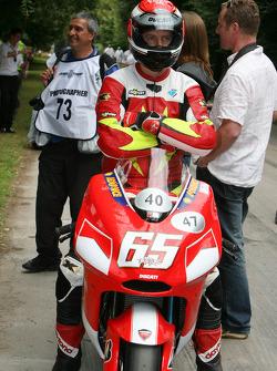 John Hackett, Ducati Desmosedici (ex Loris Capirossi)