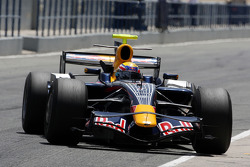 Mark Webber, Red Bull Racing, slicks