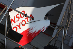 Toyota F1 Team, bodywork
