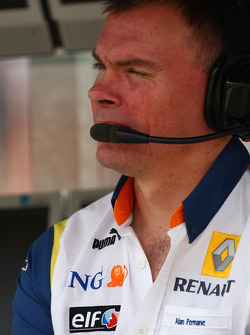 Alan Permaine, Renault F1 Team, Engineer