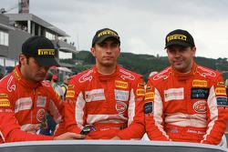 Fabio Babini, Jamie Davies and Ferdinando Monfardini