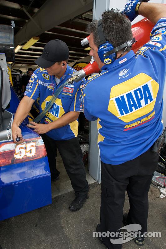 NAPA Toyota crew members at work