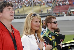 Courtney Hansen with Brian Vickers
