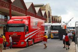 Valencia Circuit preparations