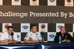 Acura Motorsports LMP1 announcement press conference: Erik Berkman, HPD president, Gil de Ferran and Duncan Dayton