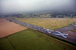 1087 Subarus spell out Colin McRae setting a Guinness world record