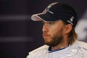 Post-race press conference: third place Nick Heidfeld