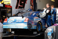 The #2 crew load up the car following the race