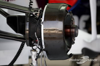BMW Sauber F1 Team, brake assembly