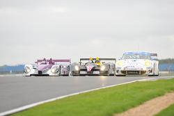 #34 Van Merksteijn Motorsport Porsche RS -Spyder: Jos Verstappen, Peter Van Merksteijn, #46 Embassy Racing WF01 - Zytek: Joey Foster, Darren Manning, #76 IMSA Performance Matmut Porsche 997 GT3 RSR: Richard Lietz, Raymond Narac
