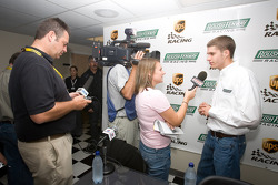 UPS/Roush Fenway Racing press conference: David Ragan answers questions for the media