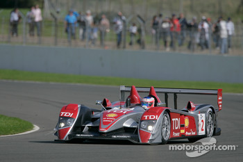 #2 Audi Sport Team Joest Audi R10 TDI: Alexandre Prmat, Mike Rockenfeller