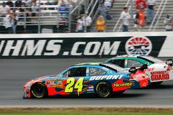 Jeff Gordon and Dale Earnhardt Jr.