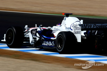 Christian Klien, Test Driver, BMW Sauber F1 Team, F1.08